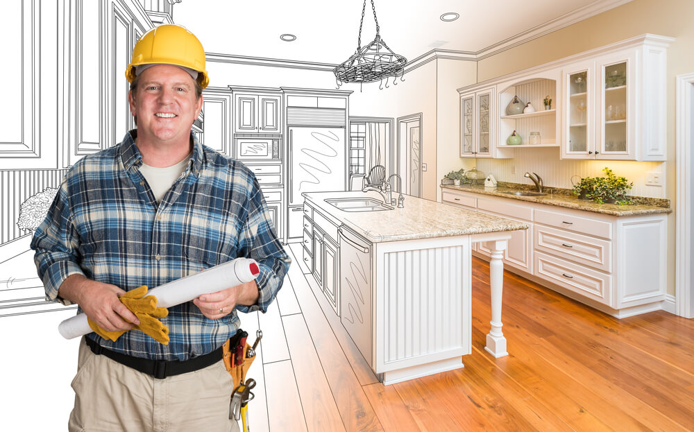 home flipping contractor concept